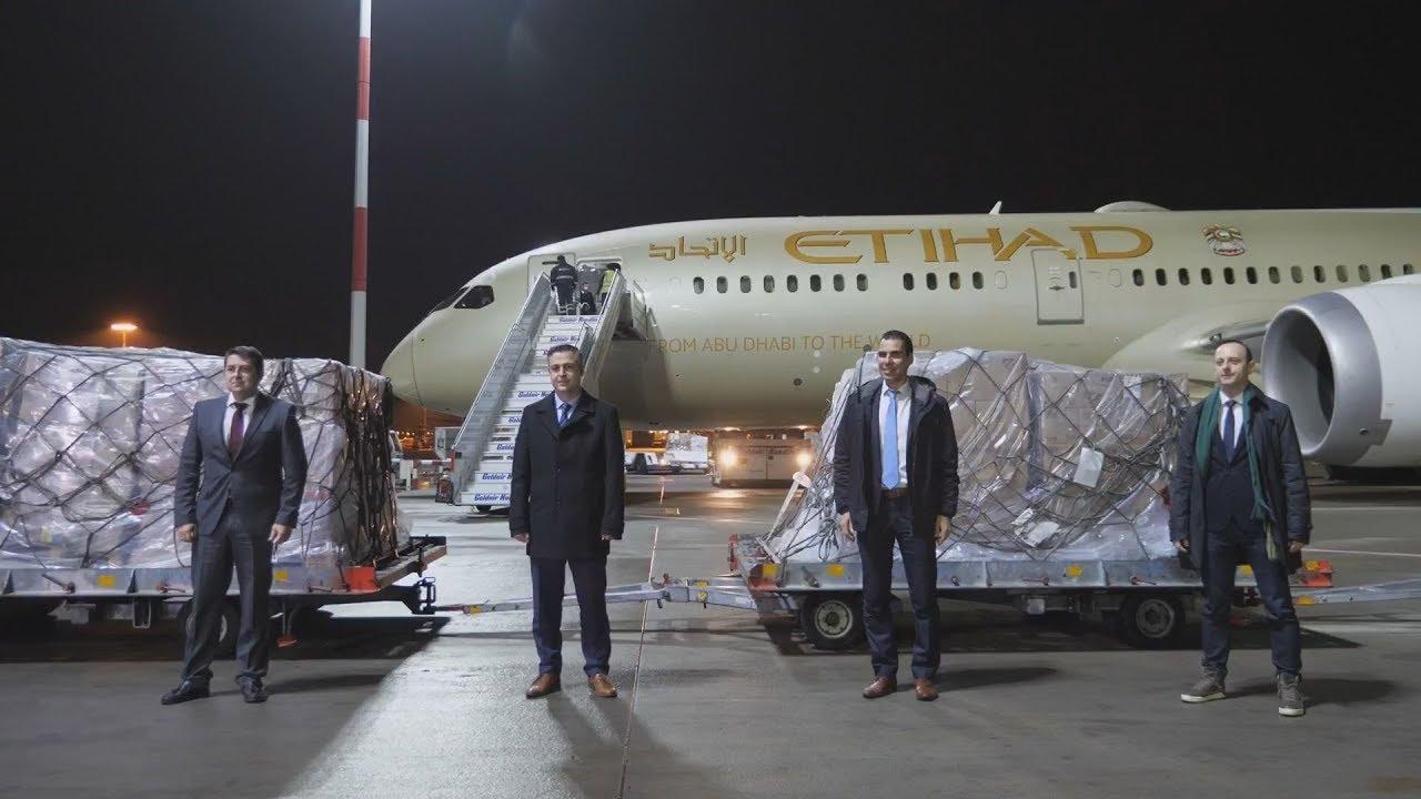 Υγειονομικό υλικό  απέστειλαν τα Ηνωμένα Αραβικά Εμιράτα στη χώρα μας