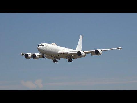 RIAT Wednesday arrivals 2018 Boeing...