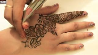 Easy Beautiful Designer Arabian Henna Mehndi Art StyleFestival Mehendi Designs For Upper SideClick For Best Mehndi CONES http://amzn.to/2bTRcqaLIKE My FB http://www.facebook.com/MehndiArtisticaMehndi Book http://amzn.to/2bTRcqaClick For Indian Bridal Saree/Wedding Sarees : http://goo.gl/CWw20Mehndi, the ancient art of painting on the skin with henna, beautifies the body, rejuvenates the spirit, and celebrates the joys of creativity and self-expression :)