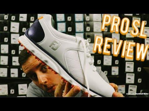 FootJoy Pro SL Golf Shoes! An HONEST Review!