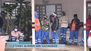 Funcionários da limpeza pública de Bauru pedem prioridade em vacinação