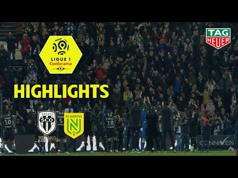 Angers SCO - FC Nantes ( 2-0 ) - Highlights - (SCO - FCN) / 2019-20