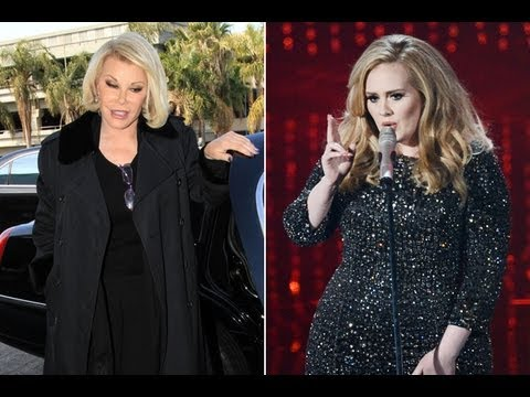 Joan Rivers Fat Shames Adele