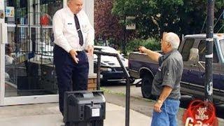 Epic Old Man - TV Thief Gag