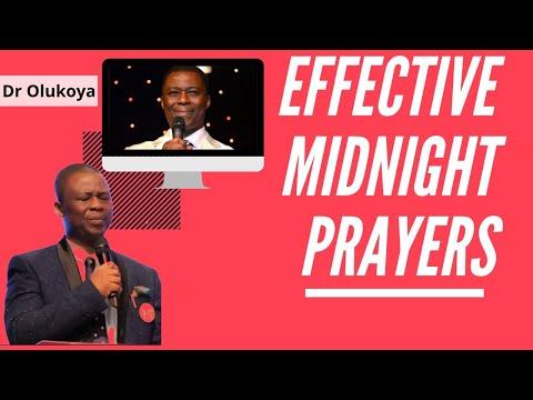 Effective Midnight Prayers - Dr Olukoya