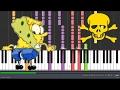 Ripped Pants - SpongeBob SquarePants (Impossible Piano Version) 😈😈😈