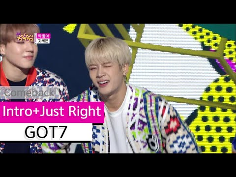 [Comeback Stage] GOT7 - Intro+Just Right, 갓세븐 - 인트로+딱 좋아, Show Music Core 20150718