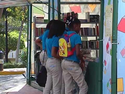 Reportaje Feria Internacional del Libro RD