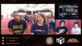 DaShizWiz (Falco) vs Mr Lz (Marth) – TGL Monthly