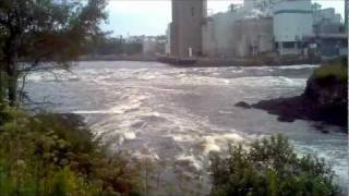 Saint John (NB) Canada  City new picture : Reversing falls in Saint John, New Brunswick, Canada