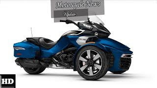8. HOT NEWS !!! 2018 Can Am Spyder F3 T  spec & price