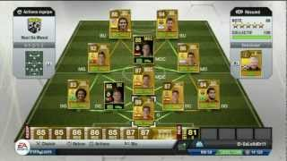 Fifa 13 Ultimate Team - 4.350.000 Coins Squad Liga Rated 88 - Ronaldo Messi Etc. - UltimateTrading