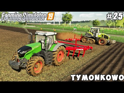 Selling onions, buying new truck & big tractor, plowing | Tymonkowo | Farming simulator 19 | ep #25