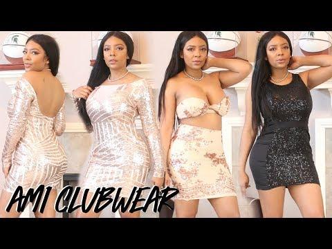 AFFORDABLE NEW YEARS EVE DRESS HAUL W/ AMI CLUBWEAR