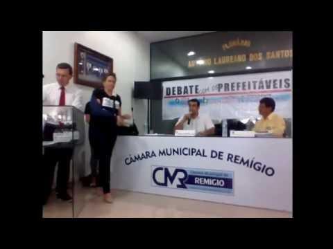 Remígio - Debate com os Prefeitáveis - Sintab
