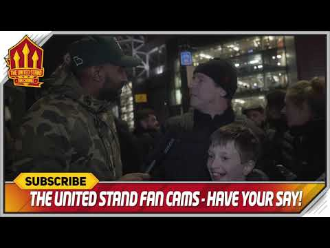 Just play the game! Man United 4 vs 1 Bournemouth | Fan Cam