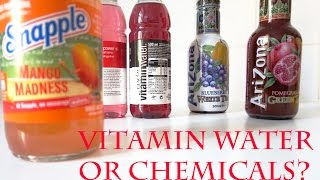 Vitamin Water or Chemicals?