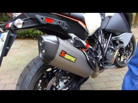 KTM 1050 Adventure mit Akrapovic