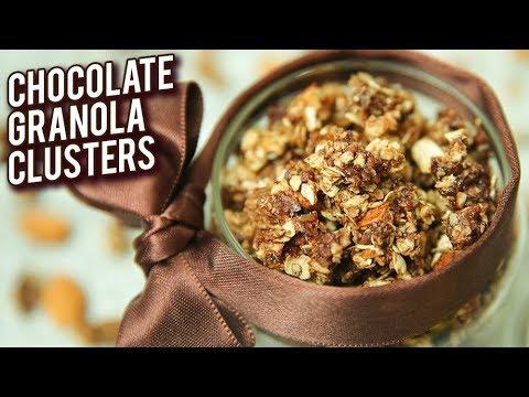 Chocolate Granola Jar – BEST Handmade Diwali Gift – Chocolate Oats Clusters – Bhumika