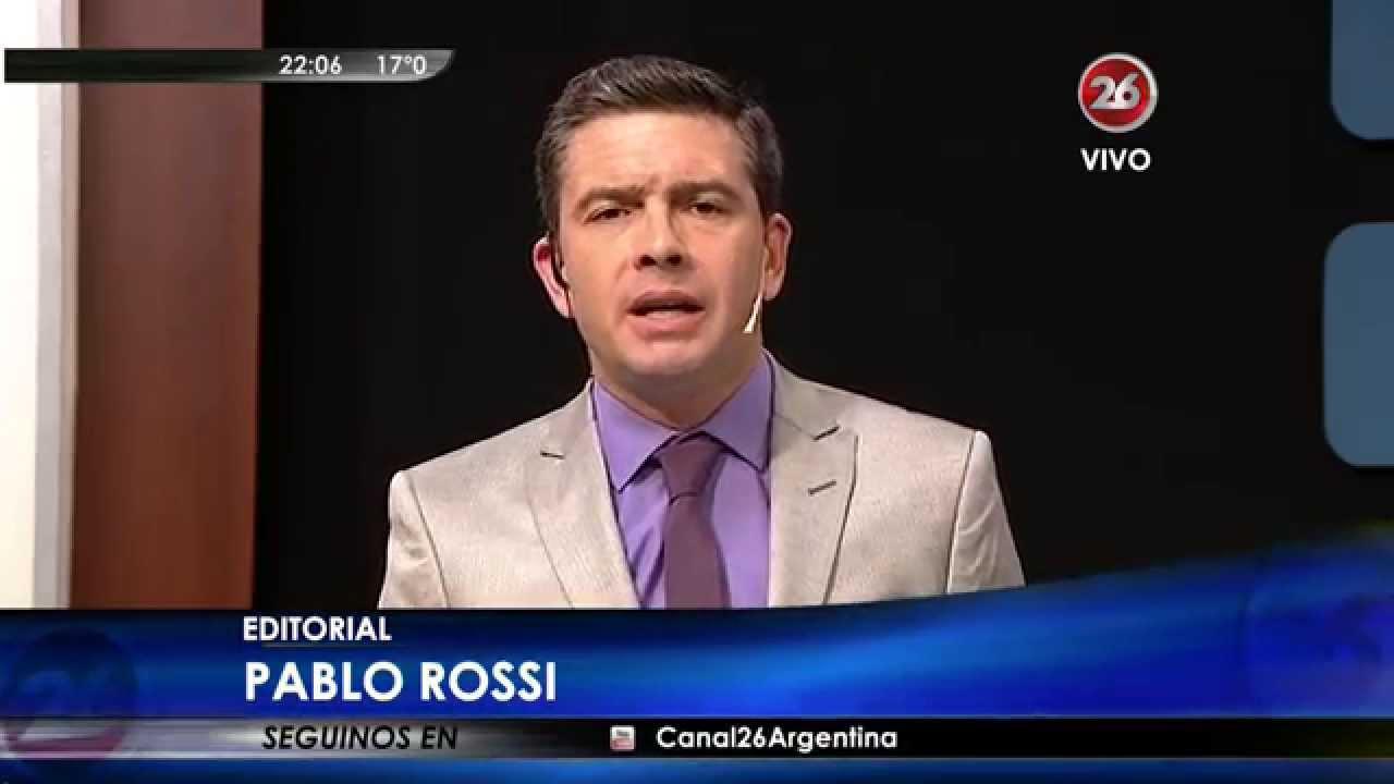 Editorial de P.Rossi en «Hora Clave», con M.Grondona – 25/08/15