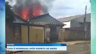 Mulher ateia fogo na casa do vizinho após descobrir que ele tentou abusar da filha dela
