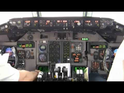 MD80 Cockpit Takeoff Part 2 FULL HD