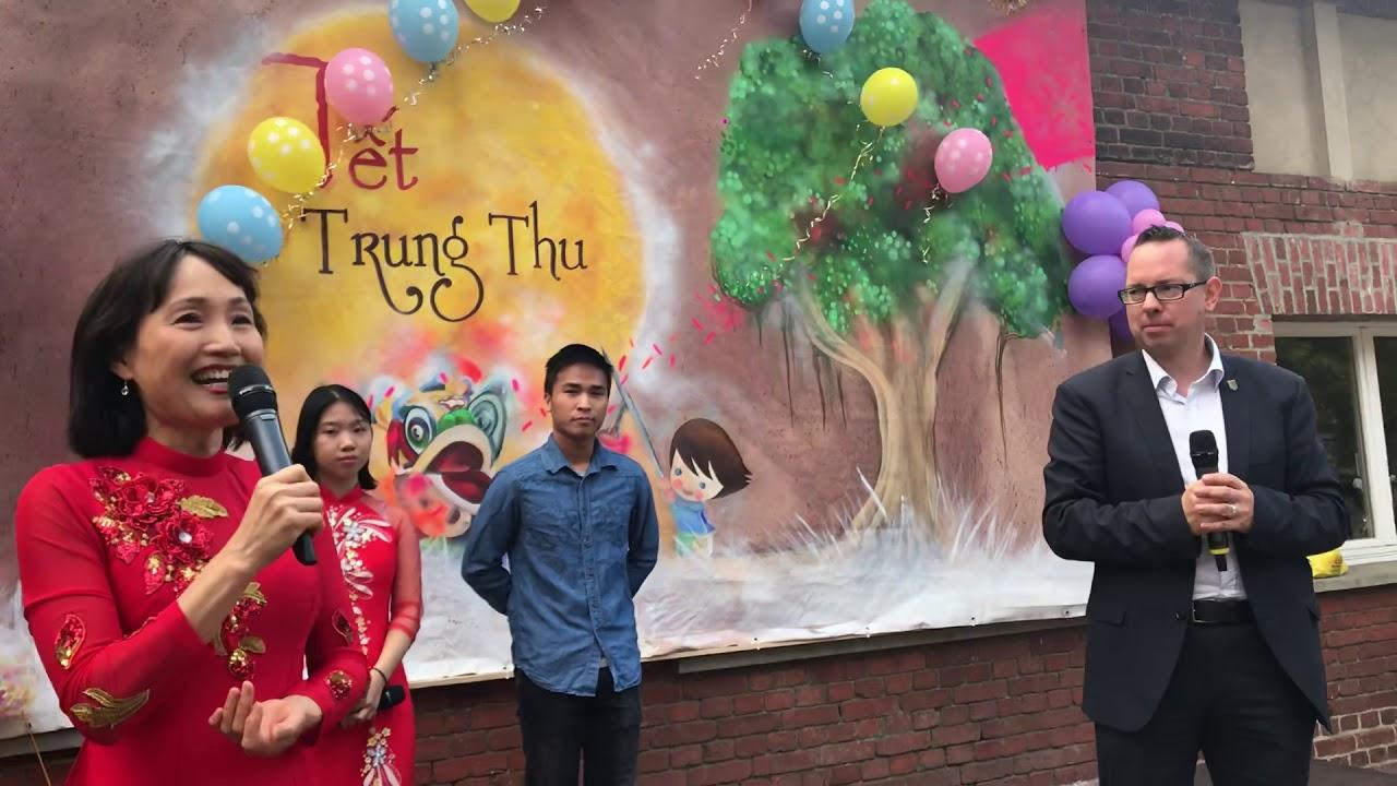 ÔNG QUẬN TRƯỞNG PHÁT BIỂU TẠI TẾT TRUNG THU VN 2018