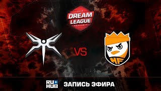 Mineski vs HappyFeet, DreamLeague Season 8, game 1 [Maelstorm, Mila]