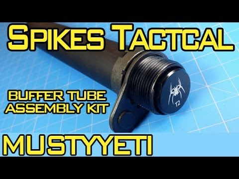 mustyyeti - Today we are covering the Spikes Tactical buffer tube kit. This is a one stop shop for any of you looking to pick up a buffer tube for your AR pistol. Spikes...