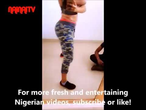 Sweaty Yemi Alade Twerks And Whines To Her Own Songs.
