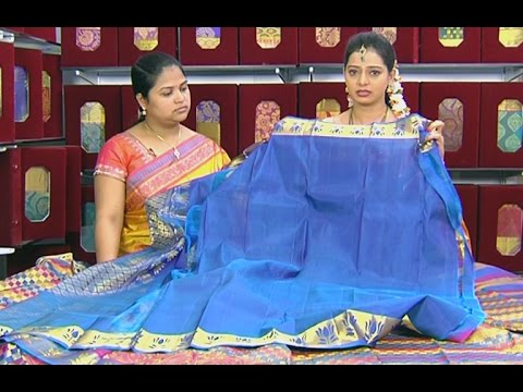Latest Designer Pattu & Fancy Sarees - Sogasu Chuda Tarama 25 July 2014 04 PM