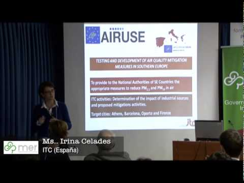 Irina Celades, ITC (España) - Workshop Valencia MER Project