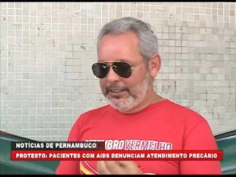[BRASIL URGENTE PE] Pacientes com AIDS denunciam atendimento precário
