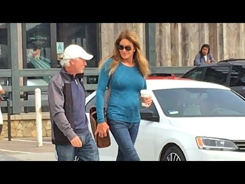 See What Titanic Actor Caitlyn Jenner Chatted Up At Starbucks In Malibu!