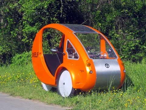 Organic Transit & The ELF: Discovery Channel Canada takes a look at OT's unique solar tricycle