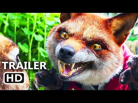 PЕTER RABBІT Official Trailer (2018) Margot Robbie, Daisy Ridley Animation Movie HD