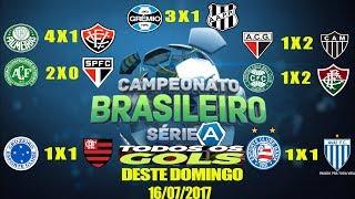 Gols do Fantástico - 14ª Rodada do Brasileirão 16/07/2017 COMPLETO Gols do Fantástico 16/07/2017, gols da rodada 16 07...
