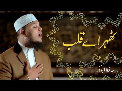 Video Thehar Ay Qalab | Naat Official Video | Hafiz Abu Bakar download in MP3, 3GP, MP4, WEBM, AVI, FLV January 2017