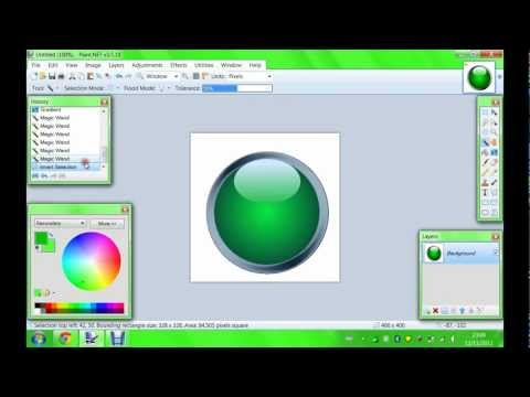 How to make a glossy logo - Paint.net