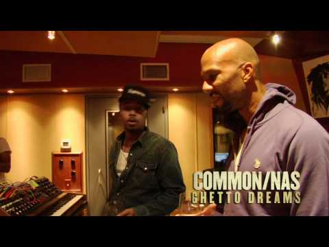 Music: Common featuring Nas 'GhettoDreams' Trailer