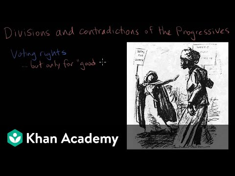 The Progressives Video The Age Of Empire Khan Academy