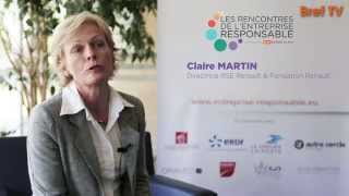 Rencontres RSE: Claire Martin, Renault