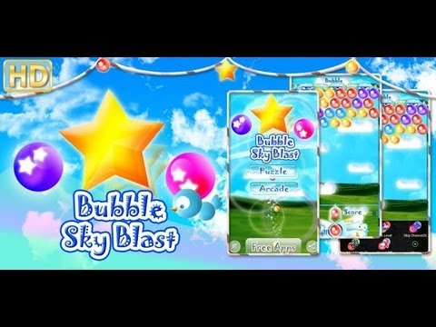 Video of Android Bubble Sky Blaster PRO