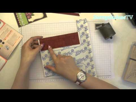Tutorial - Jumborad neu verwertet - Stampin' Up!