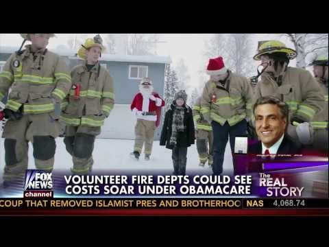 Video: Obamacare could end volunteer firefighting, close fire departments!
