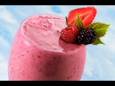 Homemade Healthy Fresh Fruit Smoothie Recipe Weight Loss