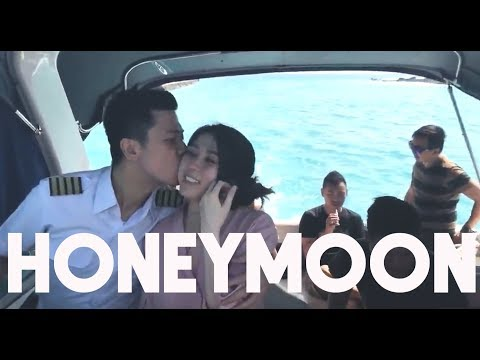 PILOT DIARY VLOG - HONEYMOON! to a special island..