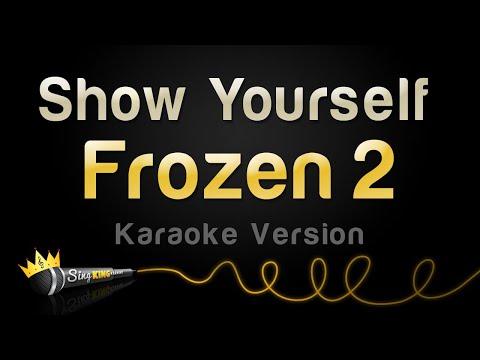 Frozen 2 - Show Yourself (Karaoke Version)