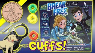 Item provided by Yulu for review▶ Visit them here - http://bit.ly/BreakFreeYulu▶ Available at TargetSpy Code Break Free Game Pick The Lock To Escape Family Game - Butch Gets Cuffed!  This was harder then I expected because there was an easy - medium and hard lock to pick.  The hard lock was really challenging. Once you get the hang of it, you can probably figure it out quicker, but you do not initially know which inner cylinder you are getting. This is only available at Target, so visit their web site to learn more about this game.  If your a fan of locks and being a spy, then you will really like this game.Lucky Penny ThoughtsLPS-DaveLater!▶ About UsLucky Penny Shop is a family-friendly YouTube channel that features videos of kids food maker sets, slime, putty, new & vintage toys, games and candy & food from around the world! There are over 5500 videos!▶ Product InfoSpy Code Break Free Game Pick The Lock To Escape Family Game - Butch Gets Cuffed! - YuluVisit us online ▶ http://www.luckypennyshop.com/shop/▶ Watch More VideosGames, Vintage Games - New Board Games - Family Games https://www.youtube.com/watch?v=n-Nz1dPbjVE&index=1&list=PL27_x9U5H26vuQCxN_t7EWASxQIlw7KgcCookie Monster Count & Learn Cookie Toyhttps://www.youtube.com/watch?v=8F79jIGZSMoSlikSilver Dam Buster Water Toy Game - Slik Silver Mego Corp https://www.youtube.com/watch?v=iXiWRvVfu0ESoggy Doggy Family Wet & Wild Family Board Gamehttps://www.youtube.com/watch?v=wK43pR2itgQ▶ Follow UsTWITTER  http://twitter.com/luckypennyshop FACEBOOK  http://www.facebook.com/LuckyPennyShopINSTAGRAM  http://instagram.com/LuckyPennyShopGOOGLE+  https://plus.google.com/+luckypennyshopPINTEREST  http://www.pinterest.com/luckypennyshop/LPS WEBSITE  http://www.luckypennyshop.com/Sound Effects by http://audiomicro.com/sound-effectsThis video is not intended as an endorsement of the product shown. We were not paid or provided other non-monetary advantages or incentives to show this product.