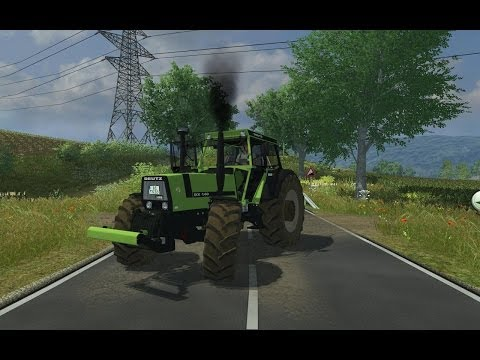 Deutz Fahr DX 140 with FH v1.0